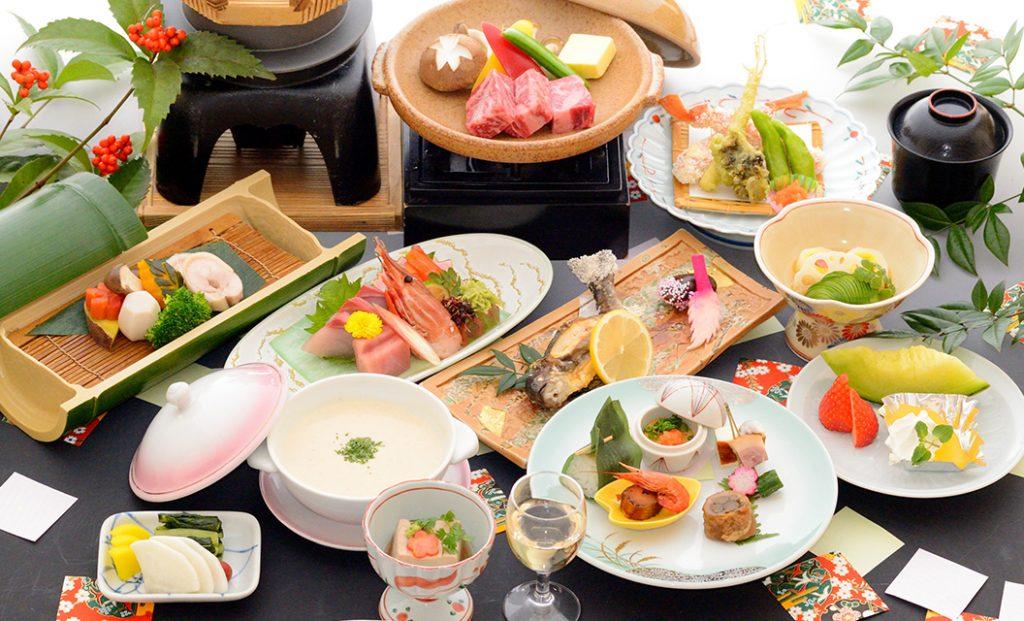 祝宴のお料理の画像